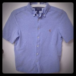 Polo Ralph Lauren boys m 12-14 button up